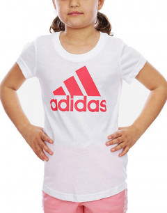 ADIDAS Must Haves Badge of Sport Tee White / Core Pink