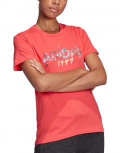 ADIDAS  Must Haves Graphic Linillu Tee Core Pink