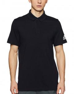 ADIDAS Must Haves Plain Polo Shirt Black