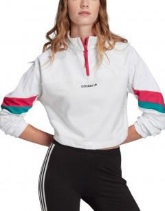 ADIDAS Originals Crop Top Sweater White