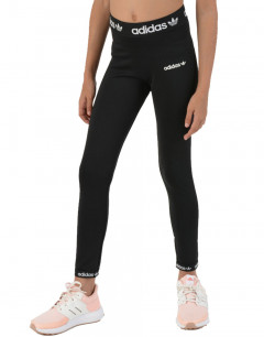 ADIDAS Originals Trefoil Logo Leggings Black