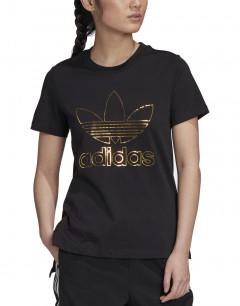 ADIDAS Originals Trefoil Outline Logo Tee Black