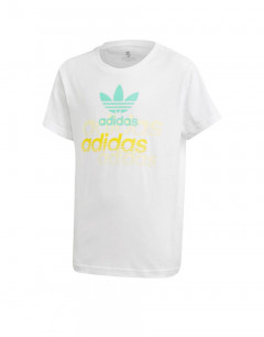 ADIDAS Originals Youth Graphic Tee White