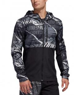 ADIDAS Own The Run Jacket Graphic/Black