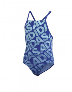 ADIDAS Pro Graphic Swim Suit Blue