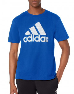 ADIDAS Qqr Faded Inf Tee Blue