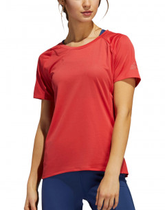 ADIDAS Rise Up N Parley Tee Red