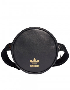 ADIDAS Round Waist Bag Black