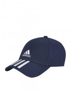 ADIDAS Sg Baseball 3 Stripes Twill Cap Tech Indigo
