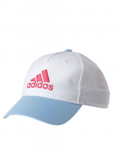 ADIDAS Sg Graphic Cap White/ Real Pink