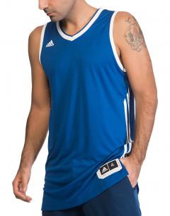 ADIDAS Sleeveless Jersey Blue