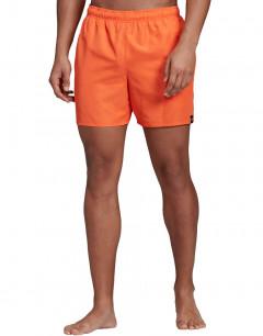 ADIDAS Solid Swim Shorts Orange