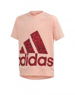 ADIDAS Statement Tee Glow Pink