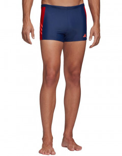 ADIDAS Swim Shorts Indigo/Scarlet