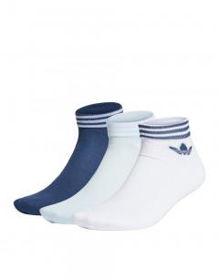 ADIDAS Tref Ankle Socks 3-Pairs WBN