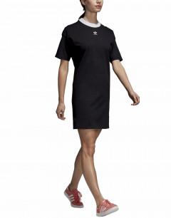 ADIDAS Originals Trefoil Cotton Dress Black