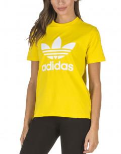 ADIDAS Trefoil Logo Tee Yellow