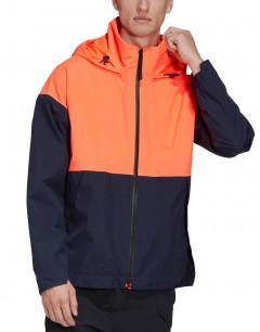 ADIDAS Urban Rain.RDY Rain Jacket Blue/Orange
