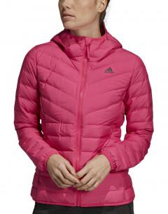 ADIDAS Varlite 3 Striped Hooded Jacket Pink
