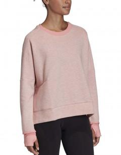 ADIDAS  Versatility Crew Sweatshirt Glory Pink