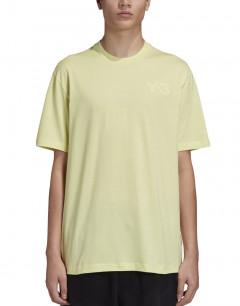 ADIDAS Y-3 Cl Logo Tee Yellow