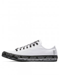 CONVERSE x Miley Cyrus Chuck Taylor All Star Low White/Black