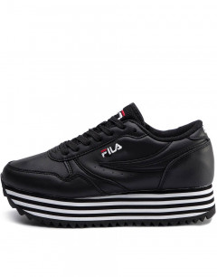 FILA Orbit Zeppa Stripe Black W