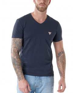 GUESS Core V-Neck Tee Navy