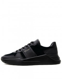 GUESS Lucca Suede Trainers Black