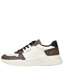 GUESS Lucca Trainers White