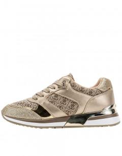 GUESS Motiv Sneakers Beige
