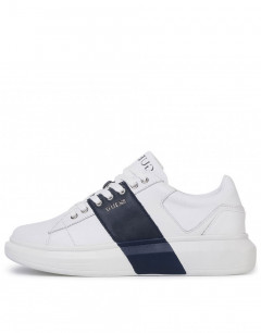 GUESS Salerno II Sneakers White Blue