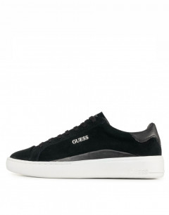 GUESS Verona Suede Trainers Black