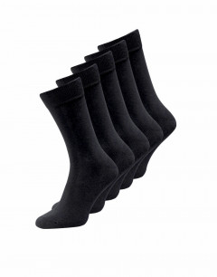 JACK&JONES 5-Pack Classic Socks All Black