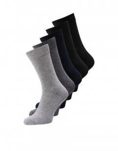 JACK&JONES 5-Pack Classic Socks Grey