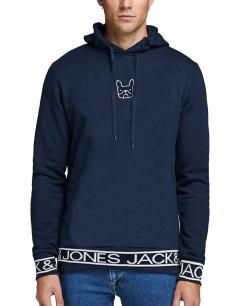 JACK&JONES Aarons Sweat Hoodie Navy