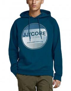 JACK&JONES Booster Sweat Hoodie Blue