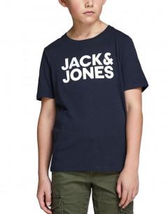 JACK&JONES Corp Logo Tee Navy