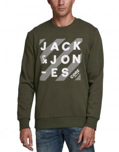 JACK&JONES Hero Blouse LS Crew Forest Night