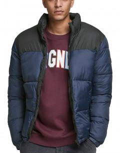 JACK&JONES High Collar Puffer Jacket Navy Blazer