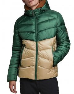 JACK&JONES Jorander Puffer Jacket Trekking Green
