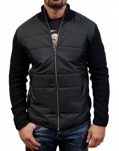 JACK&JONES Knit Zip Cardigan Jacket Black