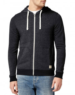 JACK&JONES Recycle Sweat Zip Hoody Caviars
