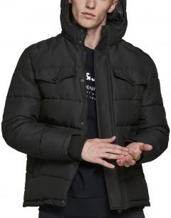 JACK&JONES Regan Puffer Jacket Black
