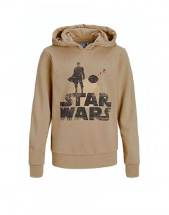 JACK&JONES Star Wars Hoodie Chinchilla