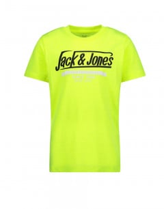 JACK&JONES Neon Logo Tee Yellow