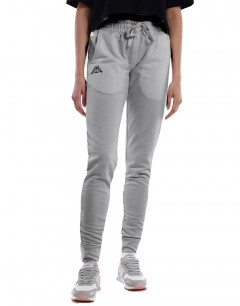 KAPPA Logo Theek Slim Fit Pant Grey