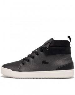 LACOSTE Explorateur Classic Leather Boots Black