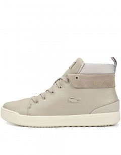 LACOSTE Explorateur Classic Leather Boots Grey