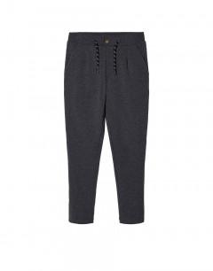 NAME IT Elastic Waist Sweatpants Dark Grey Melange
